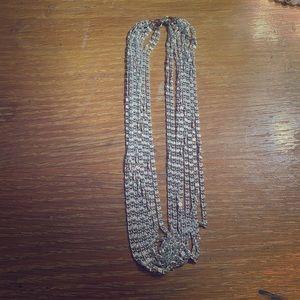 Vintage Sarah Coventry 8 Multi Strand Necklace